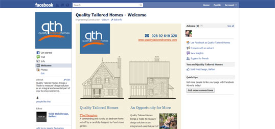 Quality Tailored Homes on Facebook