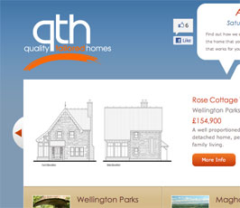 "Quality Tailored Homes with new ""Like"" Button"