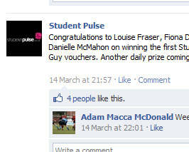 Student Pulse on Facebook